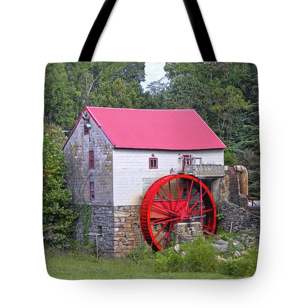 Old Mill Of Guilford Squared Tote Bag