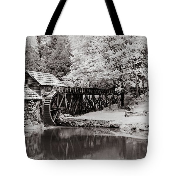 Old Mill On The Mountain Tote Bag