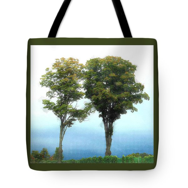 Tote Bag featuring the photograph Old Mission Peninsula  by Ellen Barron O'Reilly