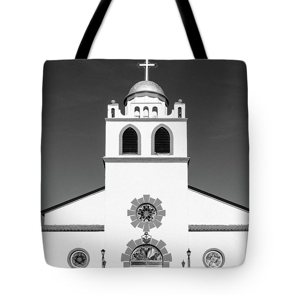 Tote Bag featuring the photograph Old Mission by SR Green