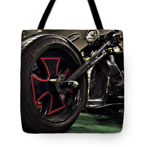 Old Motorbike Tote Bag