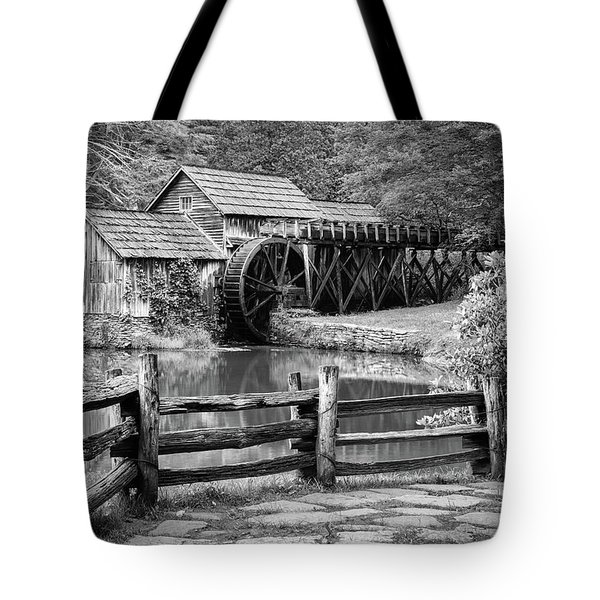 Old Mountain Morning Tote Bag