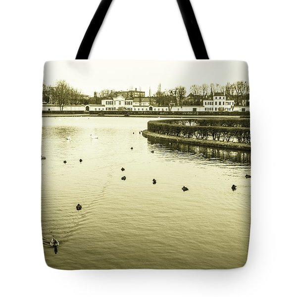 Old Munich Tote Bag by Sergey Simanovsky