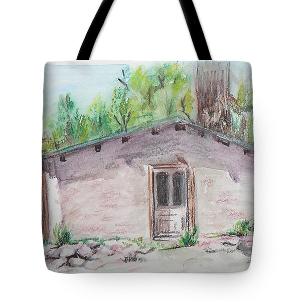 Old New Mexico House Tote Bag