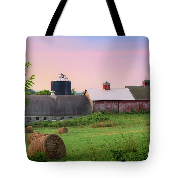 Tote Bag featuring the photograph Old New York by Bill Wakeley
