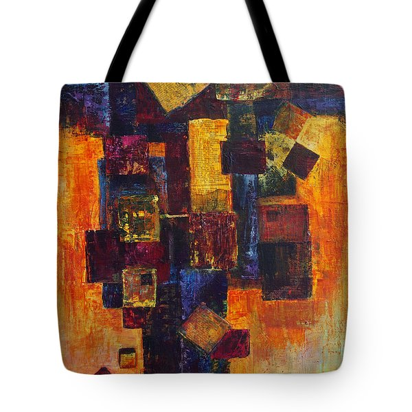 Old News Tote Bag by Cindy Johnston