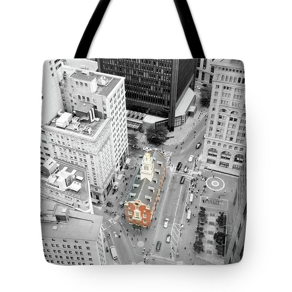 Old State House Tote Bag by Greg Fortier