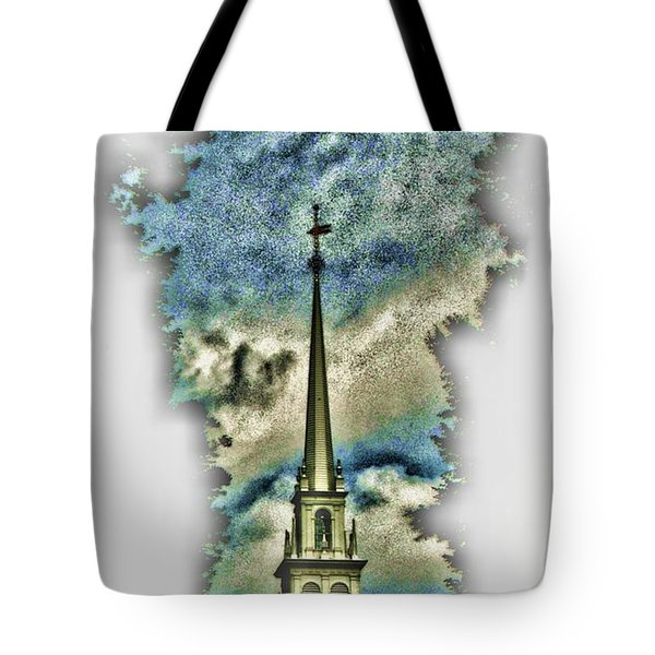 Old North Church Steeple Tote Bag