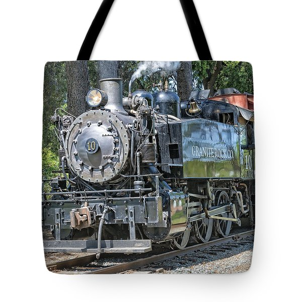 Old Number 10 Tote Bag