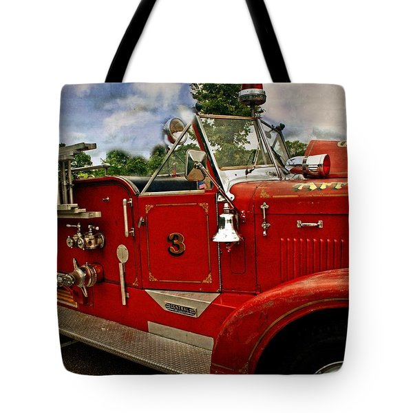 Tote Bag featuring the photograph Old Number 3 by Marty Koch