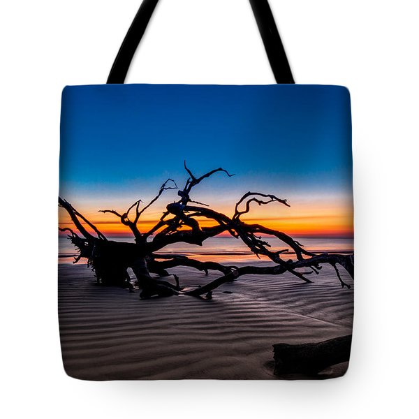 Old Oak New Day Tote Bag by Debra and Dave Vanderlaan