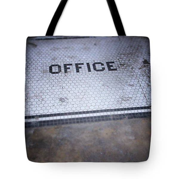 Old Office- Urban Photography By Linda Woods Tote Bag
