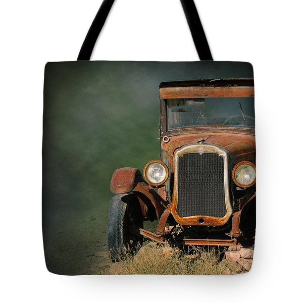 Old Oldsmobile Tote Bag