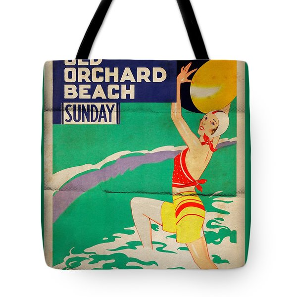 Old Orchard Beach - Folded Tote Bag