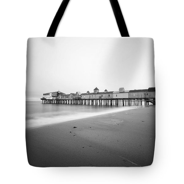 Old Orchard Beach Pier Tote Bag by Eric Gendron