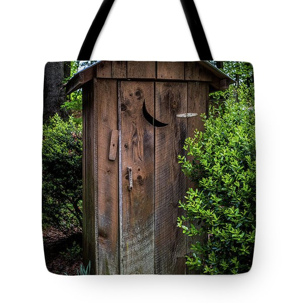 Old Outhouse Tote Bag