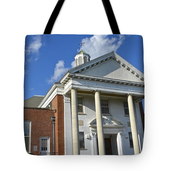 Old Paradise Elementary School Tote Bag
