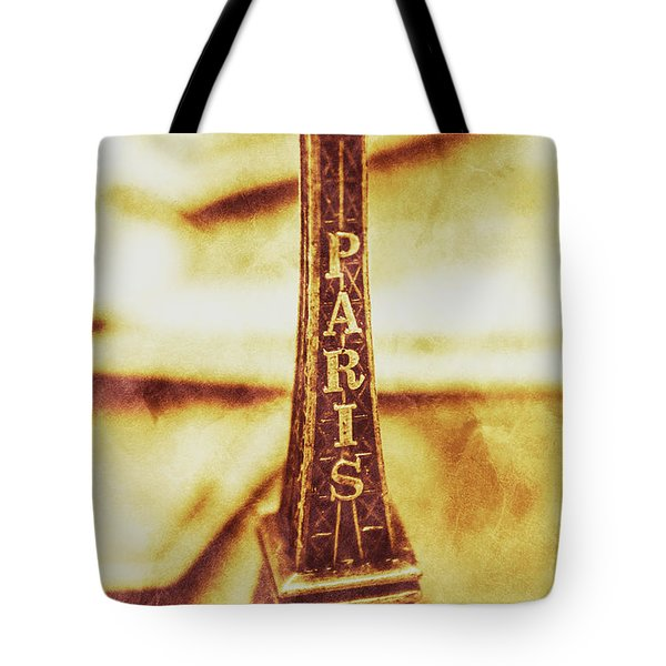 Old Paris Decor Tote Bag by Jorgo Photography - Wall Art Gallery