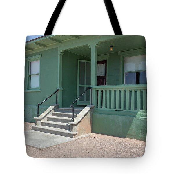 Old Period Suburban American Home Tote Bag