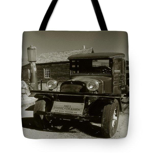 Old Pickup Truck 1927 - Vintage Photo Art Print Tote Bag