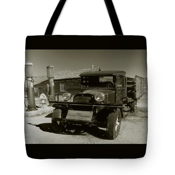 Old Pickup Truck 1927 - Vintage Photo Art Print Tote Bag