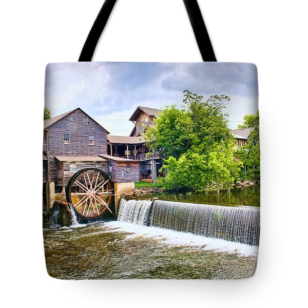 Old Pigeon Forge Mill Tote Bag