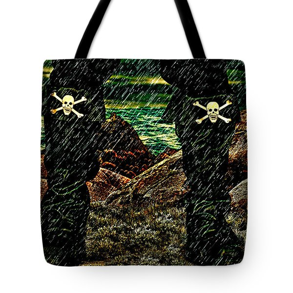 Old Pirate Tote Bag