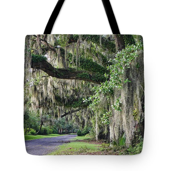 Old Plantation Road Tote Bag