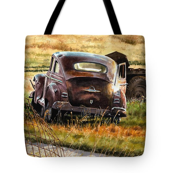 Old Plymouth Tote Bag by Tom Hedderich