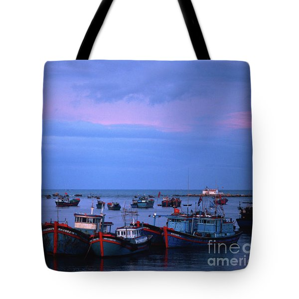 Old Port Of Nha Trang In Vietnam Tote Bag