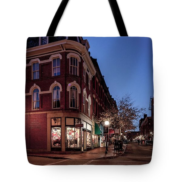 Old Port, Portland Maine Tote Bag