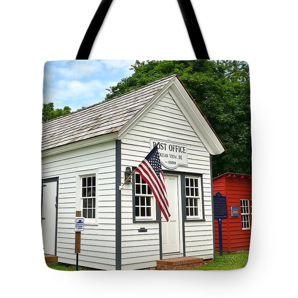 Old Post Office - Ocean View Delaware Tote Bag