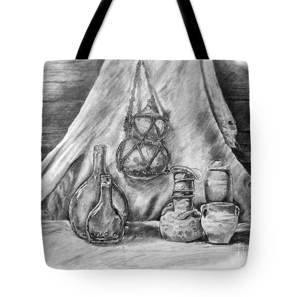Old Pottery Tote Bag