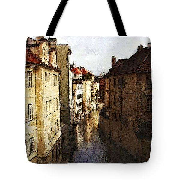 Old Prague Tote Bag by Jo-Anne Gazo-McKim