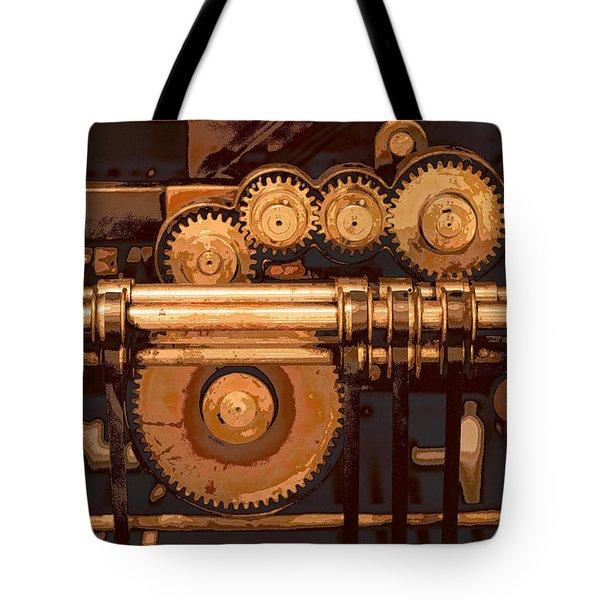 Old Printing Press Tote Bag
