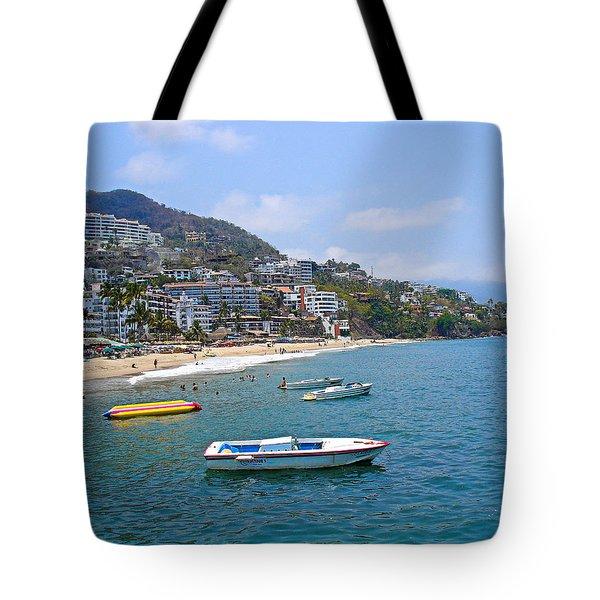 Old Puerto Vallarta  Tote Bag