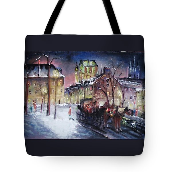 old Quebec Tote Bag by Peter Suhocke