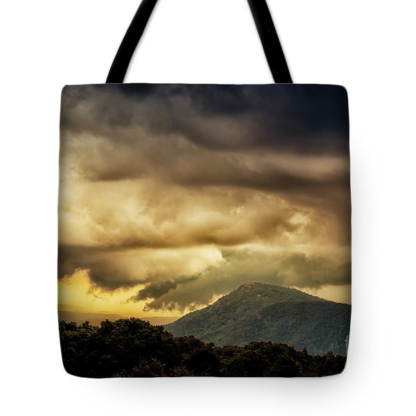 Old Rag View Overlook Tote Bag