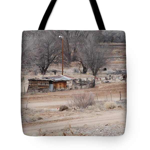 Old Ranch House Tote Bag by Rob Hans