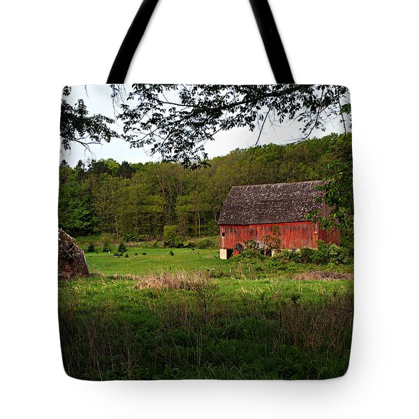 Old Red Barn 2 Tote Bag