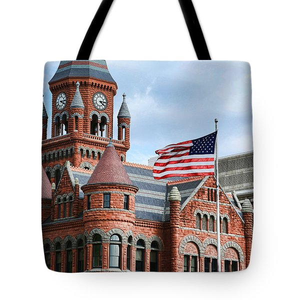 Old Red Courthouse Tote Bag