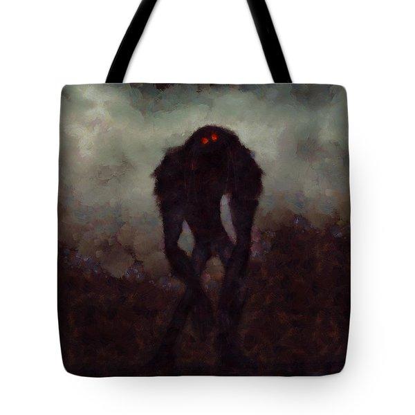 Old Red Eyes Tote Bag