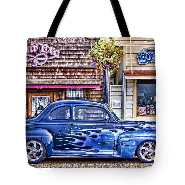 Old Roadster - Blue Tote Bag