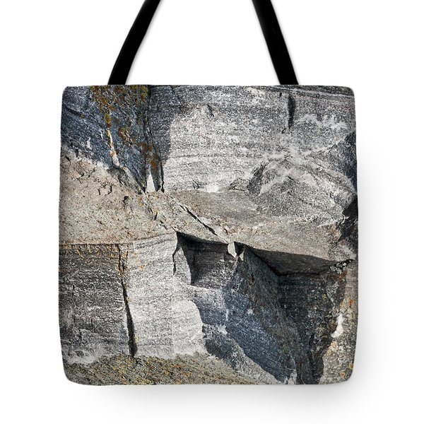 Old Rock Background Tote Bag