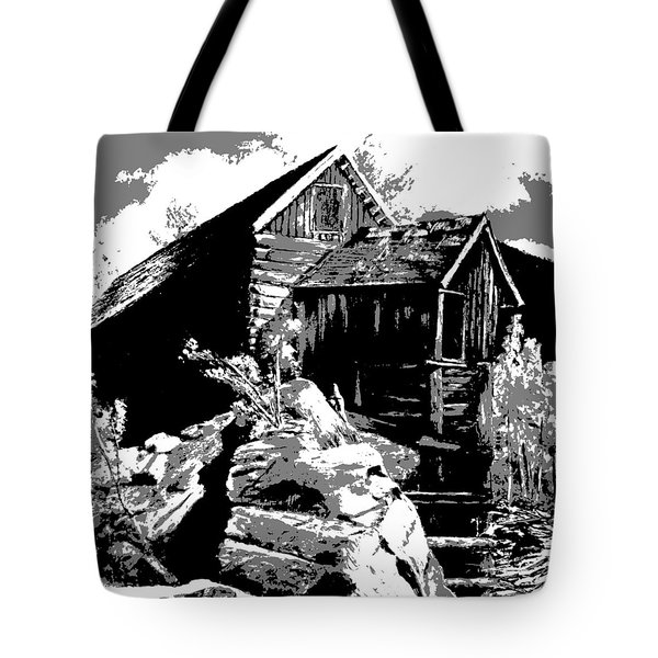Old Rocky Mill Tote Bag