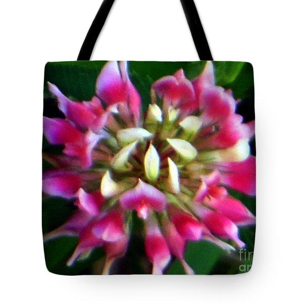 Old Rose Explosive Wildflower Tote Bag