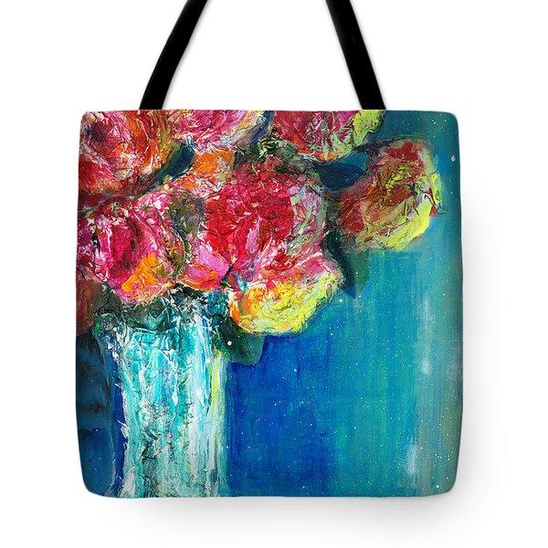 Old Roses Tote Bag