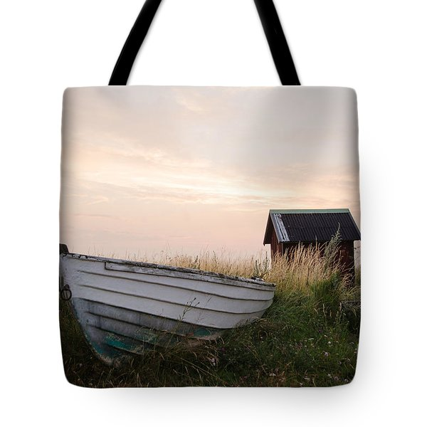 Old Rowing Boat Tote Bag