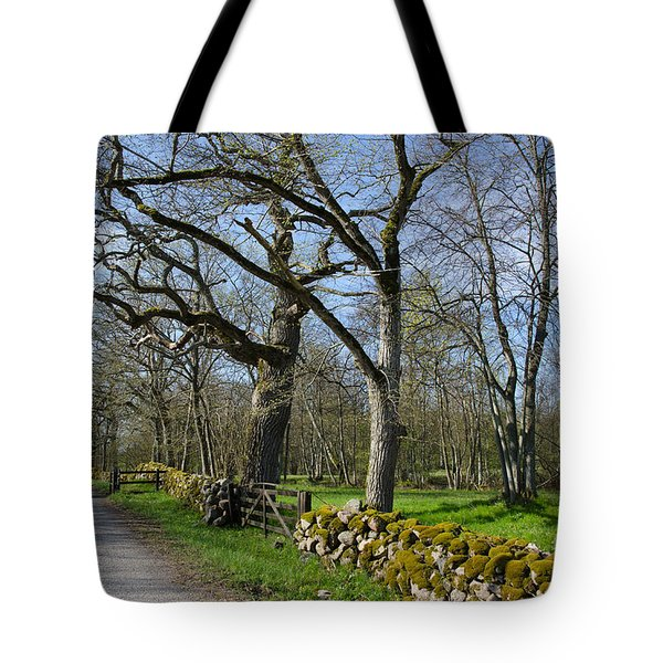 Tote Bag featuring the photograph Old Rural Landscape by Kennerth and Birgitta Kullman