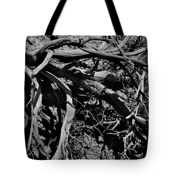 Tote Bag featuring the photograph Old Sagebrush by Ron Cline
